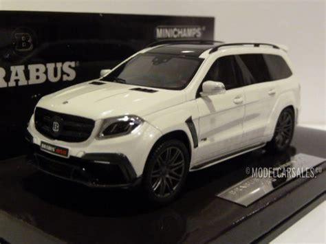 1,155 results for mercedes benz brabus. Brabus Mercedes Benz 850 Widestar XL AMG GLS 63 White 1:43 ...