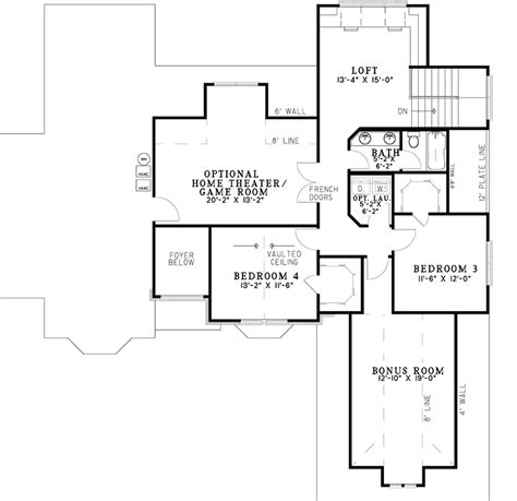 home theater floor plan your own home theater 59783nd architectural designs