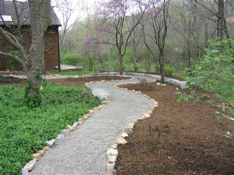 landscaped walkways lawrence ks residental and commercial landscape design annauals and perrennials