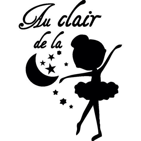 sticker carrelage cuisine sticker silhouette danseuse quot au clair de la lune