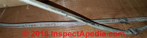 fabric insulated electrical wire cable