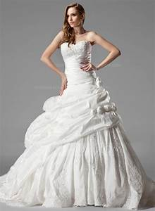 ball gown sweetheart chapel train taffeta wedding dress With taffeta wedding dress