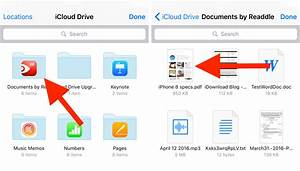How to attach files and documents to the mail app on for Documents no iphone