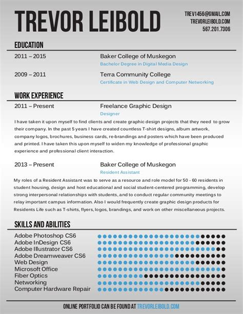 Chronological Resume Graphic Design by Customize 563 Graphic Design Resume Templates Canva