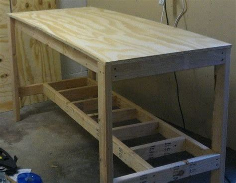 attached   foot   deep top plywood board