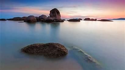 Nature Sea 4k Wallpapers Rocks Seascape Rocky