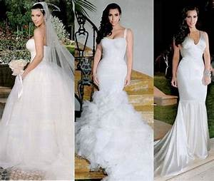 kims dress choice for her second wedding With how much was kim kardashian s wedding dress