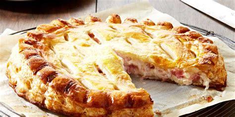 tourte jambon fromage facile recette sur cuisine actuelle