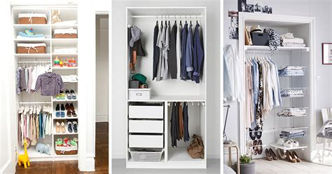 Closet Organization Ideas For Small Closets by 9 Storage Ideas For Small Closets Contemporist