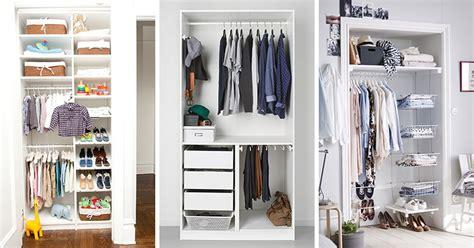 Closet Organizers Small Closets by 9 Storage Ideas For Small Closets Contemporist