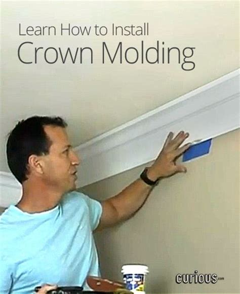 how to put up crown molding on kitchen cabinets how to install crown molding do it yourself today 9930