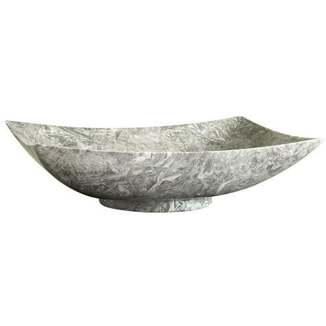rectangular stone vessel sink ryvyr stone 20 in rectangular vessel sink in overlord