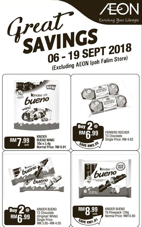 AEON Great Savings Promotion (6 September 2018 - 19 ...