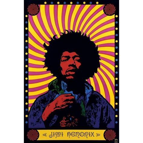 jimi psychedelic poster medium pp30356 best deals with price comparison