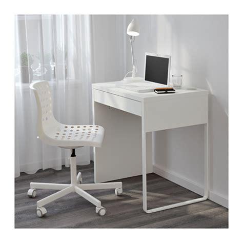 bureau largeur 40 cm micke bureau blanc ikea