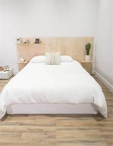 Faire Une Tête De Lit En Bois : 100 id es pour fabriquer une t te de lit en bois qui ~ Melissatoandfro.com Idées de Décoration