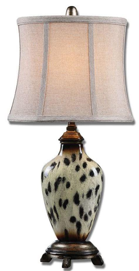 uttermost   cheetah print malawi cheetah print table