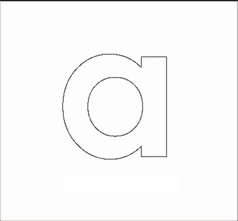 printable lowercase letter stencils alphabet stenncils page print your lowercase a stencil