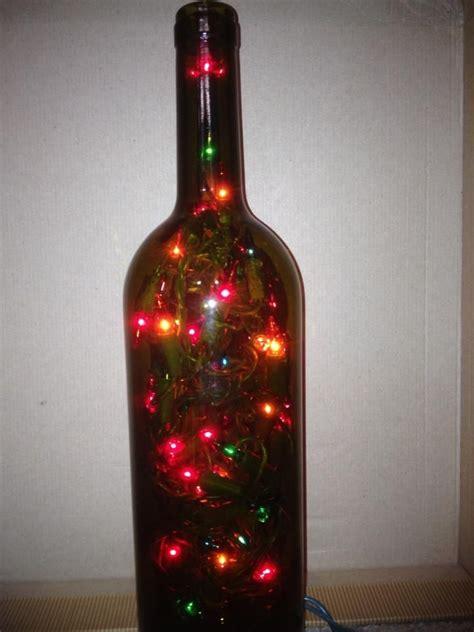 wine bottle led lights wine bottle with led lights crafts for me pinterest
