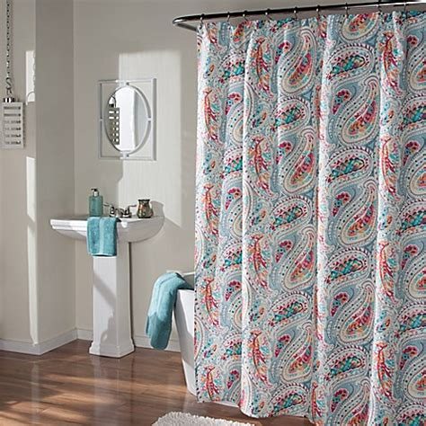 mstyle perfect paisley shower curtain bed bath