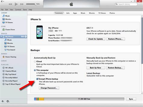 itunes phone backup using touchcopy with encrypted itunes backup data