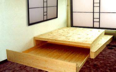 bett podest bauen bild 55 bett mit ausziehbarem bettkasten sleeping