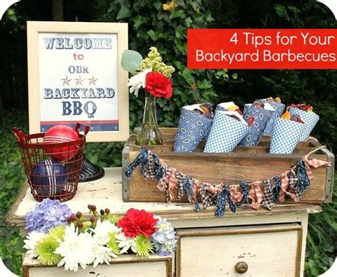 outdoor bbq decoration ideas 138 best backyard bbq party ideas images on pinterest