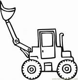 Shovel Coloring Snow Pages Transport Steam Scoop Printable Land El Colouring Special Template Tractor Coloringpages101 Vehicle Templates Getcoloringpages sketch template