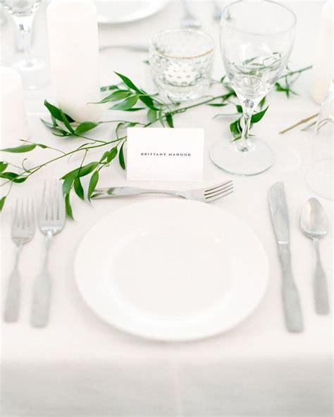 simple table settings 41 edgy modern wedding ideas you ll love crazyforus