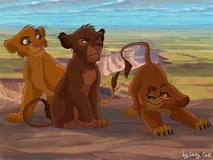 Kovu and Kiara's cubs by LadyCat2000 on DeviantArt