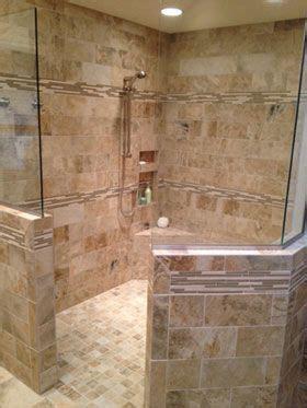 kc master bathroom remodel walk shower creative