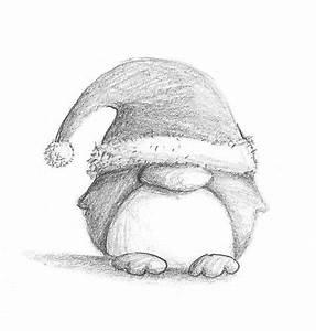 Christmas Penguin by B-Keks on DeviantArt