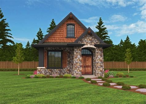 Montana Small Home Plan Small Lodge House Designs With