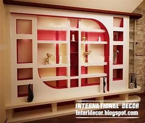 Modern gypsum board wall interior designs and decorative