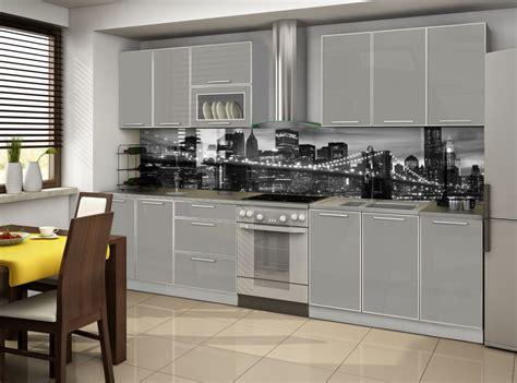 cuisine complet cuisine complete porta gris 2m60 destockage grossiste