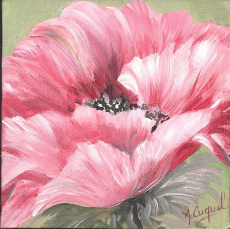 tableau peinture fleur 10