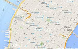 The Famous Rectilinear Network Of Manhattan  Usa   Google