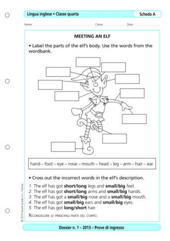 prove d ingresso lingua inglese scuola primaria prove d ingresso inglese classe 4 la vita scolastica