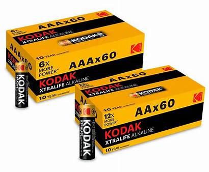Batterijen Kodak Aaa Xtralife Aanbieding Aa 60x