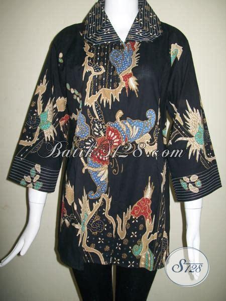 baju batik tulis ukuran jumbo  wanita pegawai kantor