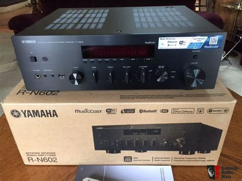yamaha rn 602 new yamaha r n602 network receiver photo 1233582 canuck audio mart
