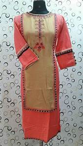 Simple yet stylish neck designs for kurtis - Simple Craft