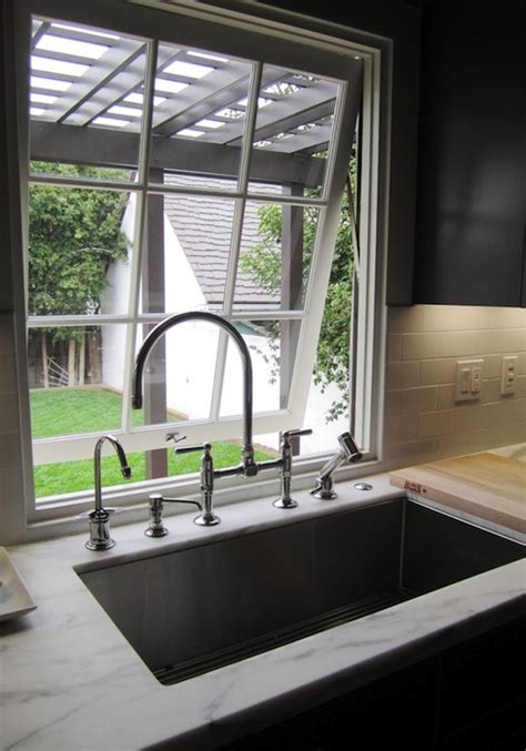 tilt  kitchen window contemporary kitchen cococozy