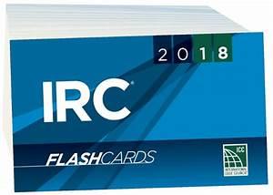 2018 International Residential Code Flash Cards
