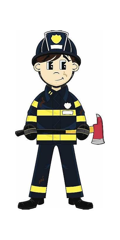 Fireman Clipart Vector British Firefighter Clip Fire