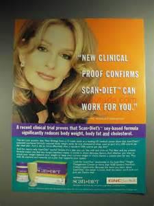 2001 Scan Diet Weight Loss Program Ad - Deidre Hall Scan Diet