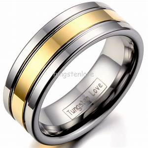 aliexpresscom buy high quality silver gold tungsten With where to buy mens wedding rings