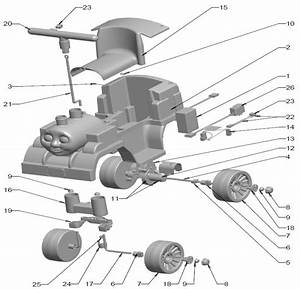 Power Wheels Thomas The Tank Engine Parts