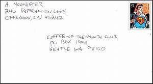 sample of a envelope address discount mail prices With outside address letter