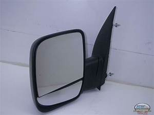 Ford E250 Van Oem Left Door Mirror Manual  Pedestal  Dual